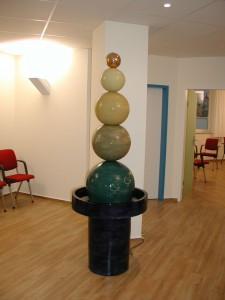 Brunnen in Praxis Dr. Spatz und Kollegen Bremen