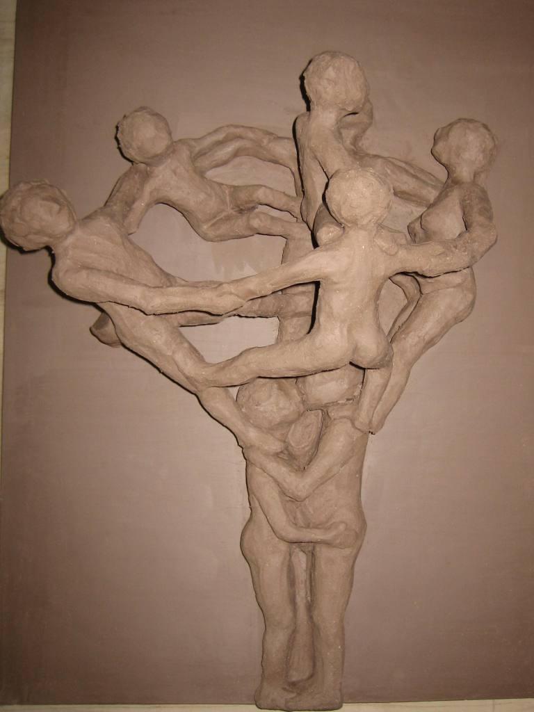 Stammbaum Ansicht 1 im lederharten Zustand