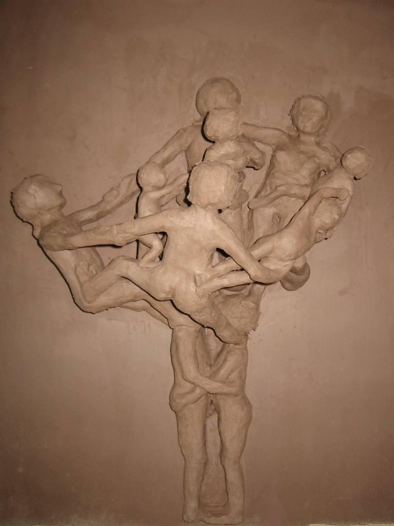 Stammbaum Ansicht 2 im lederharten Zustand