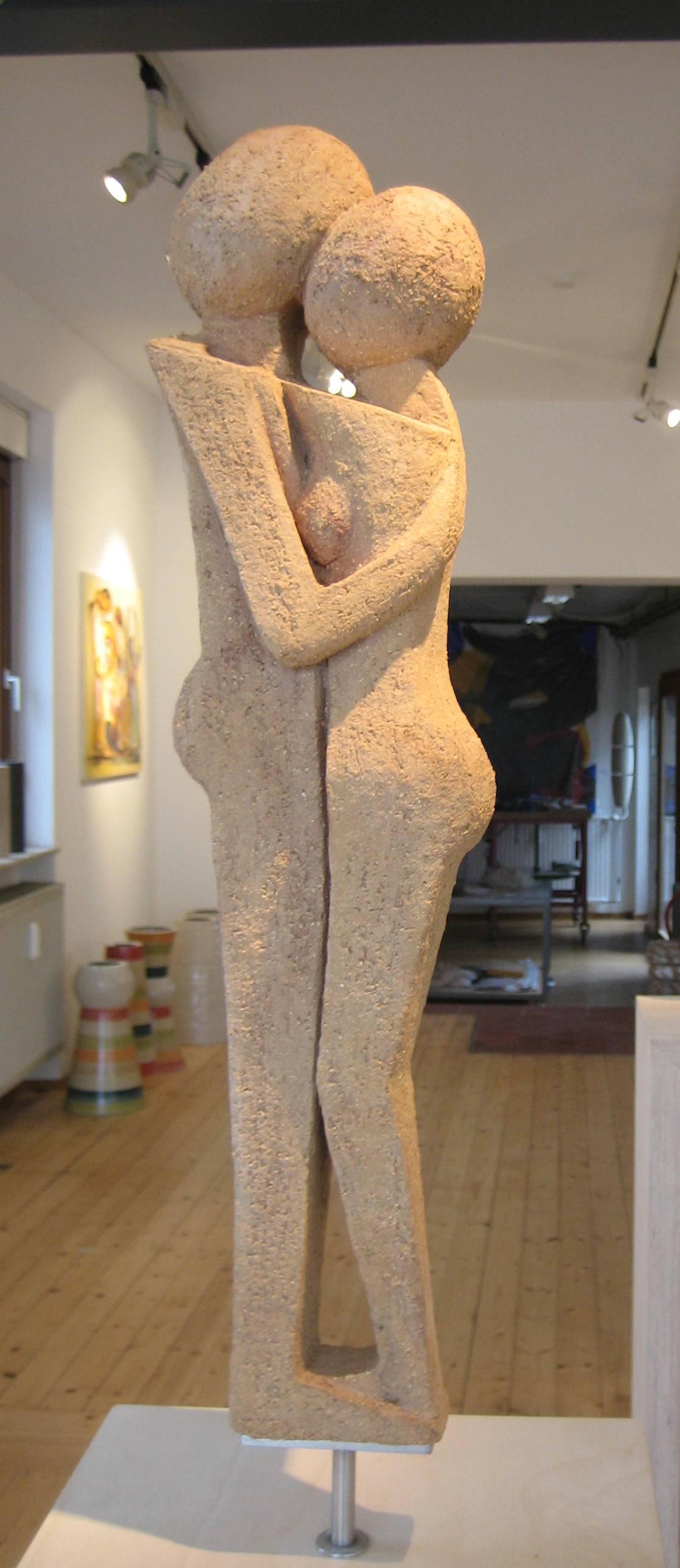 Der Kuß, 2008, ca. 60cm (Seitenansicht)