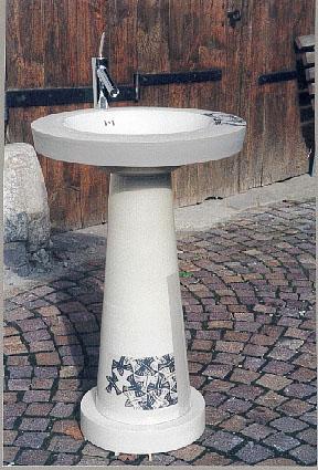 Standwaschbecken Vögel