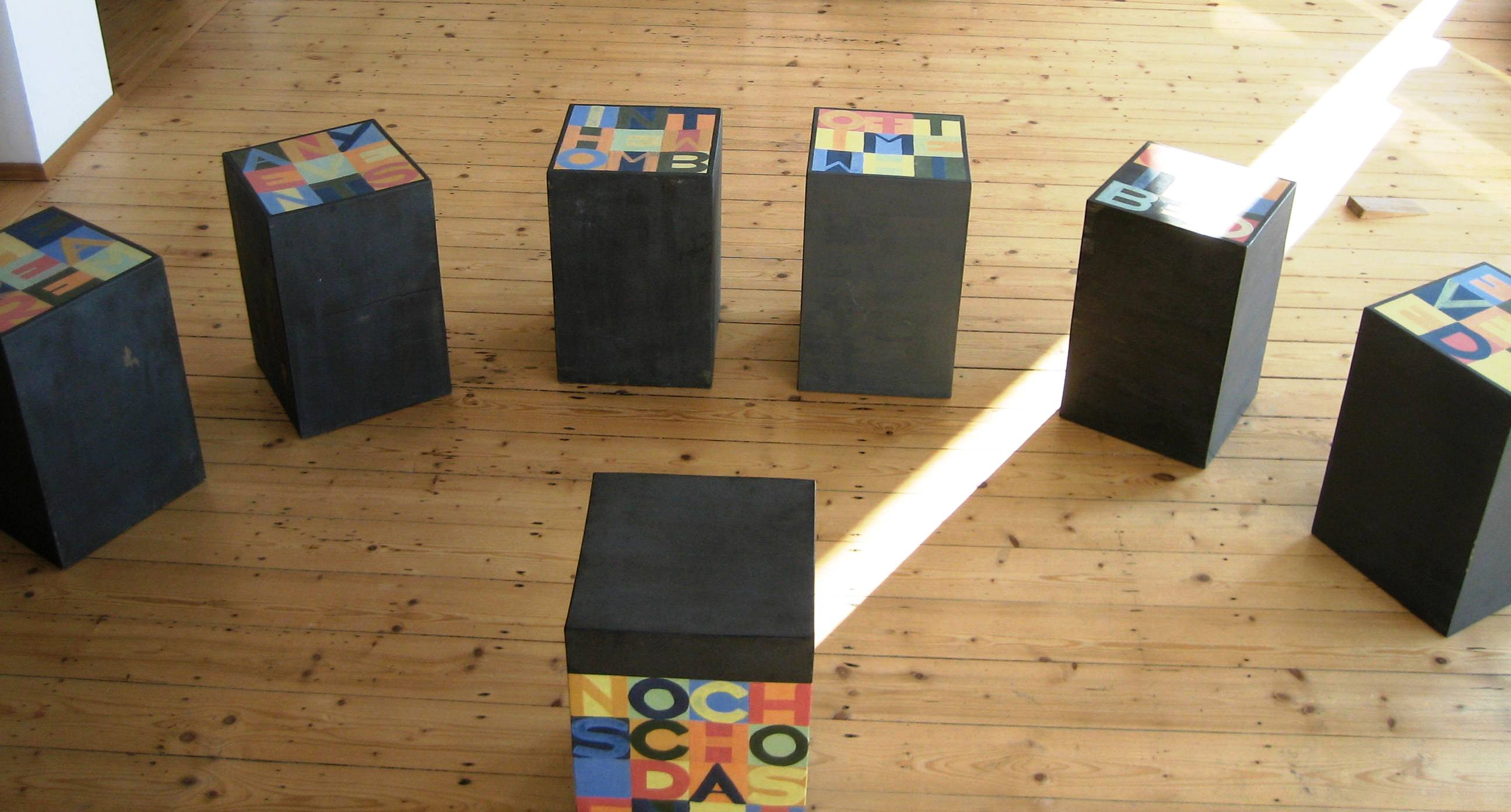 Jago Gesamtansicht in Galerie 2007