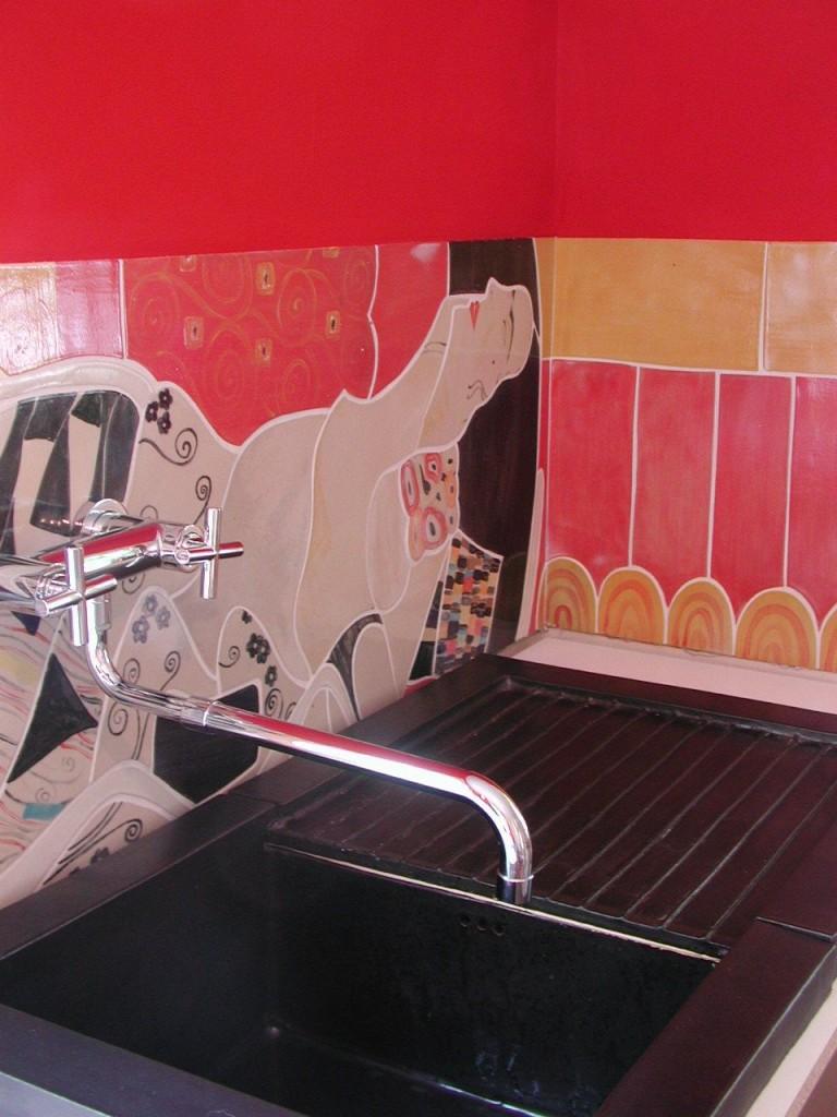Küche Hohenlohe mit Spüle