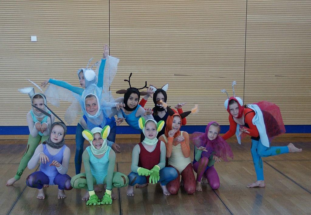 Jeder kann tanzen Waldtiere 4