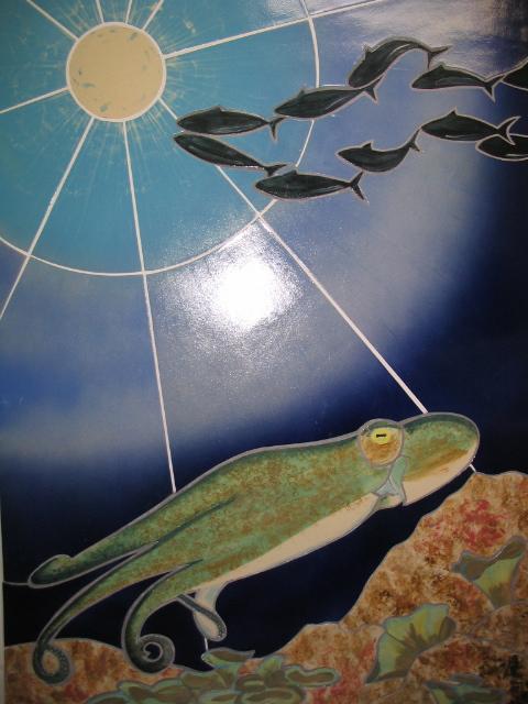 Fliesenbild Octopus 2006