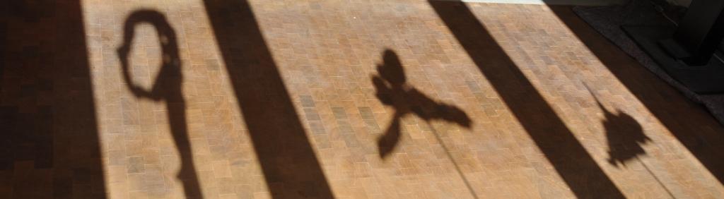Schattenbilder in Atelier August 2011