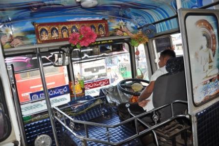Bus nach Mihintale