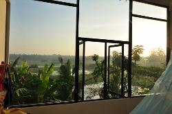 Aussicht aus Zimmer des Lake WAVE Hotel
