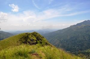 Blick von Little Adams Peak