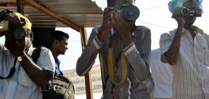 Indische Pressefotografen