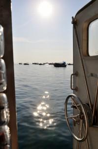 Trawler der pilgernden Fischer